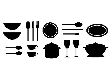 Naklejka Dekoracyjna Na ścianę Do Kuchni 1 Naklejki